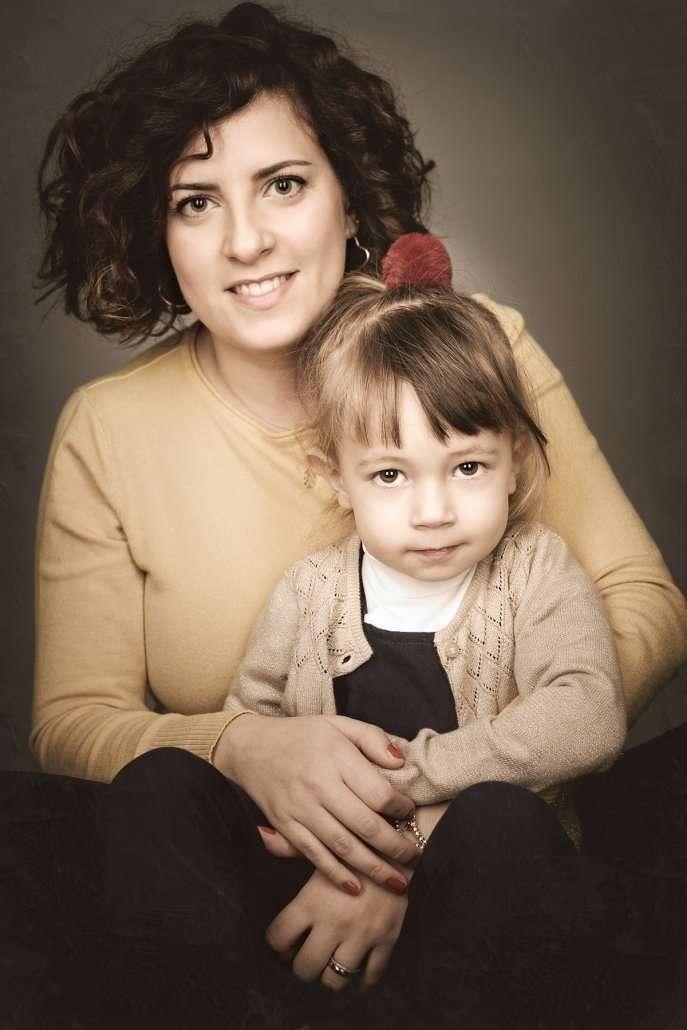 Flavio Romualdo Garofano fotografo di ritratto mamma e bambini