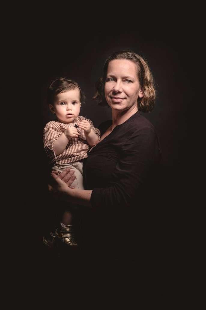fotografo di ritratto di famiglia